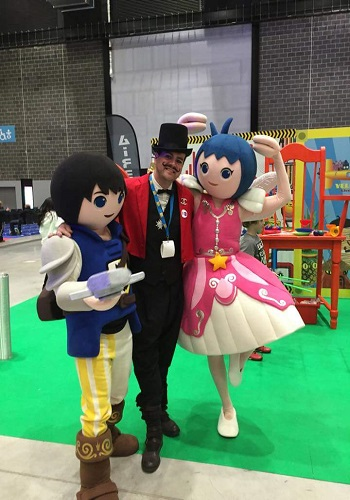 costume performers for hire at events