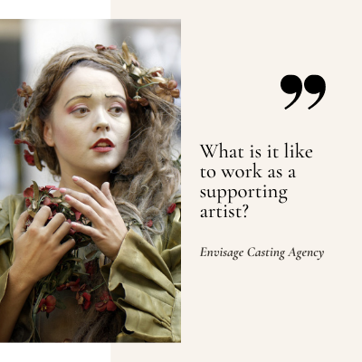 What Is It Like To Work As A Supporting Artist