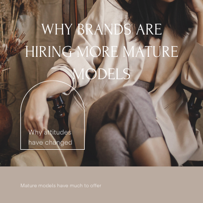 Why Brands Are Hiring More Mature Models