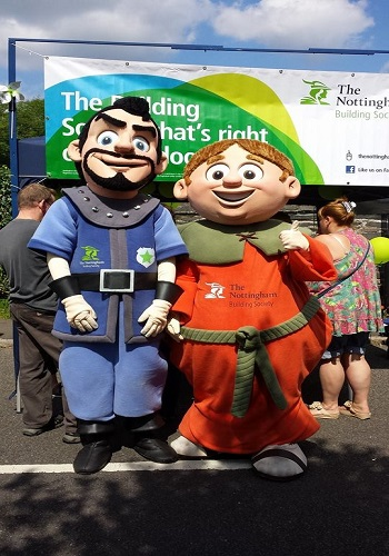 hire mascot performers for UK events and filming