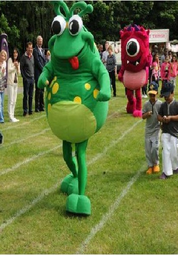 mascot performers, promotional mascots hire
