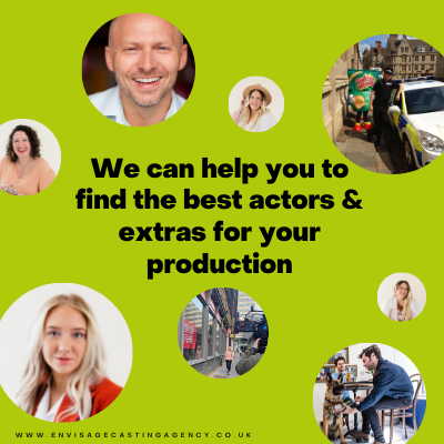 We Can Help You To Find The Best Actors & Extras For Your Production